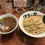 つけ麺 津気屋 - 津気屋旨辛麻婆つけ麺  + 味玉