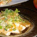 いぐさ - 東京軍鶏と蕎麦のコース 3150円 しゃもの和風ロースト