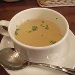 カフェ ア・ドゥーエ - ランチ・カップスープ