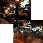 鉄板焼き 無量多 - イタリア酒場のようなカジュアルな雰囲気の中でワイワイ楽しむようなお店♪