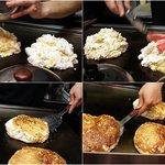 鉄板焼き 無量多 - 『お菓子のような』感覚でお好み焼きを作られてるんです!