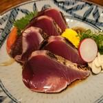 土佐料理まなべ - 料理写真:カツオのたたき