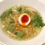 北新地 海老拉麺 キョウハ・エビ - 台湾担仔麺(同僚セレクト)