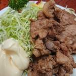 79502935 - 生姜焼き定食