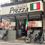 Ristorante Prezza - ママチャリが微笑ましい♪