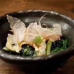 京のうまいもの屋 櫻 - ホウレン草のおひたし
