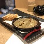 喜分屋 元祐 小皿料理と松阪牛 - 帆立の蟹味噌焼き