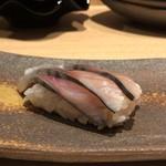 喜分屋 元祐 小皿料理と松阪牛 - 〆鯖