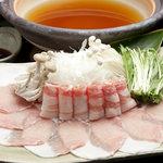 桃香 - 料理写真:ワンランク上の美味しさ!贅沢だしスープであぐー豚しゃぶしゃぶ♪