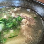 さがの食堂 - 料理写真:肉吸い アップ