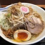 豚麺アジト - 子豚麺+丸徳トッピング