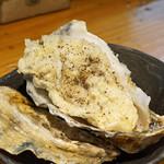 石臼挽き手打蕎楽亭 - 牡蠣