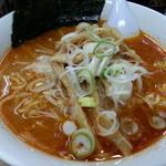 北海道ラーメン 来々軒 - 味噌オロチョンラーメン(4倍)2018.1.14