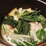 バール マツダ - 岐阜県産色々野菜のココット蒸し様