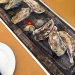 白山丸 - 料理写真:牡蠣、ハマグリ