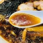 雨風本舗 - 濃いめの黒いスープ!