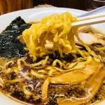 雨風本舗 - 中太のちぢれ麺です!