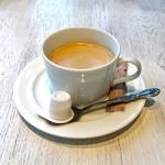 プレミオ ピエトロ - ランチのホットコーヒー。