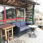 ミーシャのハーブ庭園 ブーケ ダルブル - テラス席①