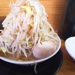 麺屋 とん嬉 - とんきラーメン並(850円)ヤサイマシ