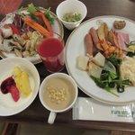 グリル ウィステリア - 料理写真:朝食ブッフェ2018.01.12