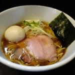 麺処 夏海 - 豊穣清湯 味玉醤油ラーメン