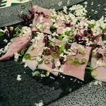 やきとんダイニング BALTON - 2018.01.13〈北海道産豚〉冷製タン~特製レモン塩~  480円