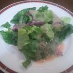 Sakamaki - ランチのサラダ