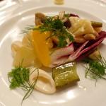 ピッツェリア・サバティーニ - 魚介と季節野菜のマリナート