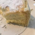 きたキッチン - とろけるチーズケーキ 断面