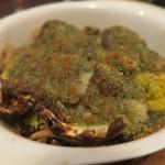 バルハチゴー - 牡蠣の香草パン粉焼き