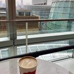 GORILLA COFFEE - 通路で東京タワーを見ながら