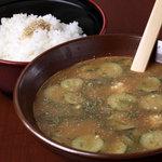 平家の郷 - 料理写真:夏限定冷や汁始まりました!!