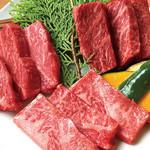 ひびの亭 - 【鹿児島黒毛和牛熟成肉】三種盛2,680円(税込2,894円)