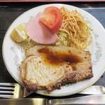 肉の宝屋 - ポークソテー¥480