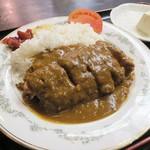肉の宝屋 - ロースカツカレー¥680