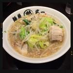 麺屋 武一 - 鶏二郎らーめん 749円