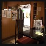 麺屋 武一 - 店内