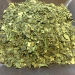 萠茶 - 期間限定 碾茶(てんちゃ)(京都宇治)600円 碾茶は抹茶の原料です。碾茶は石臼で挽くと抹茶になります。煎茶と同じ吞み方で味わってみてください。抹茶とは全く違う味わいを楽しめます。普通のお茶屋さんでは売られていないお茶です。