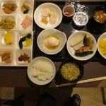 幸雲閣 - 料理写真:朝食チョイス