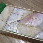 塩荘 - 料理写真:掛紙復刻鯛鮓 1030円