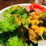 Jackson Farm & Grill - わさび菜がかなり美味しい。