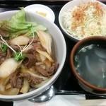 79538802 - 焼肉丼880円