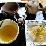 茶話処 十三夜 - 和束+わらび餅
