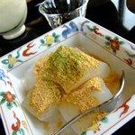 茶話処 十三夜 - わらび餅