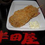 半田屋 - 肉団子串カツ
