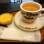 香港時間 - ミルクティーとエッグタルト