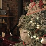 entotsu Bistro&Cafe - 店内のクリスマスツリー