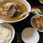 丸山飯店 - 通称 丸山セット ランチタイム1060円