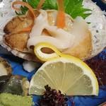 魚信旅館 - ②鮑造り